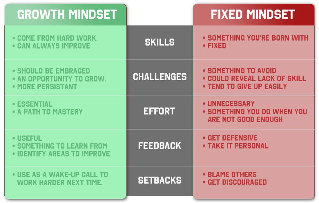 on growth fixed mindsets A video that explains the difference between a person who has a growth mindset and person who has a fixed mindset all design and animation was done by.