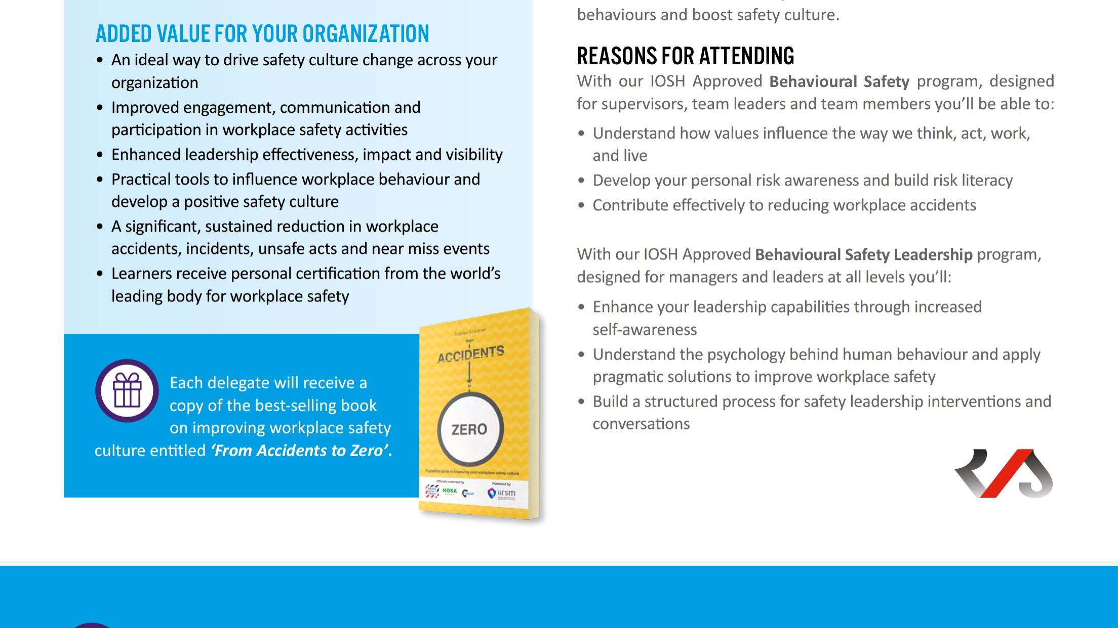 Behaviour Based Safety Training Courses Book Now